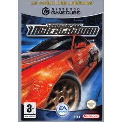 GC NEED FOR SPEED UNDERGROUND (CHOIX DES JOUEURS) - Jeux GameCube au prix de 6,95€