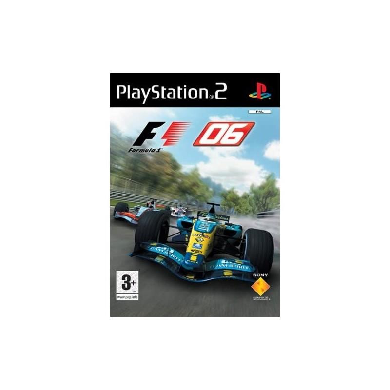 PS2 FORMULA ONE 2006 - Jeux PS2 au prix de 2,95€