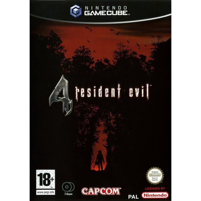 GC RESIDENT EVIL 4 - Jeux GameCube au prix de 14,95€