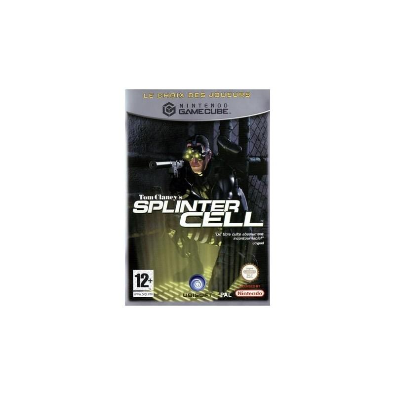 GC SPLINTER CELL (CHOIX DES JOUEURS) - Jeux GameCube au prix de 4,95€