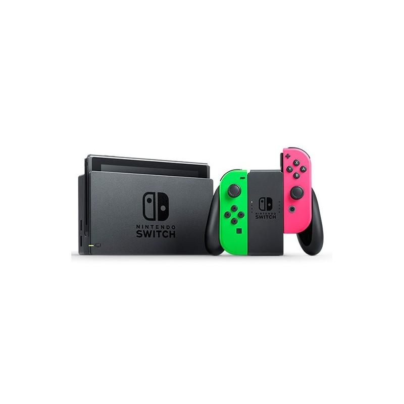 CONSOLE SWITCH V1 GREEN PINK OCC - Consoles Switch au prix de 239,95€