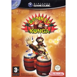 GC DONKEY KONGA - Jeux GameCube au prix de 14,95€