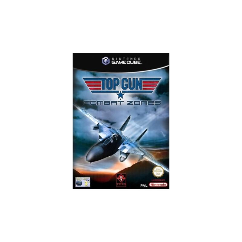 GC TOP GUN - COMBAT ZONES - Jeux GameCube au prix de 9,95€