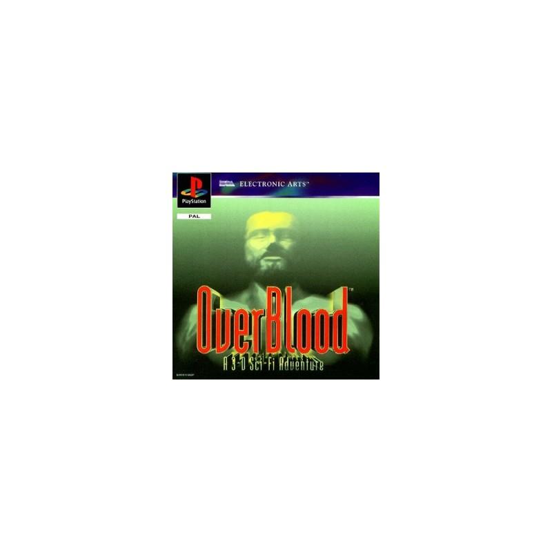 PSX OVERBLOOD - Jeux PS1 au prix de 6,95€