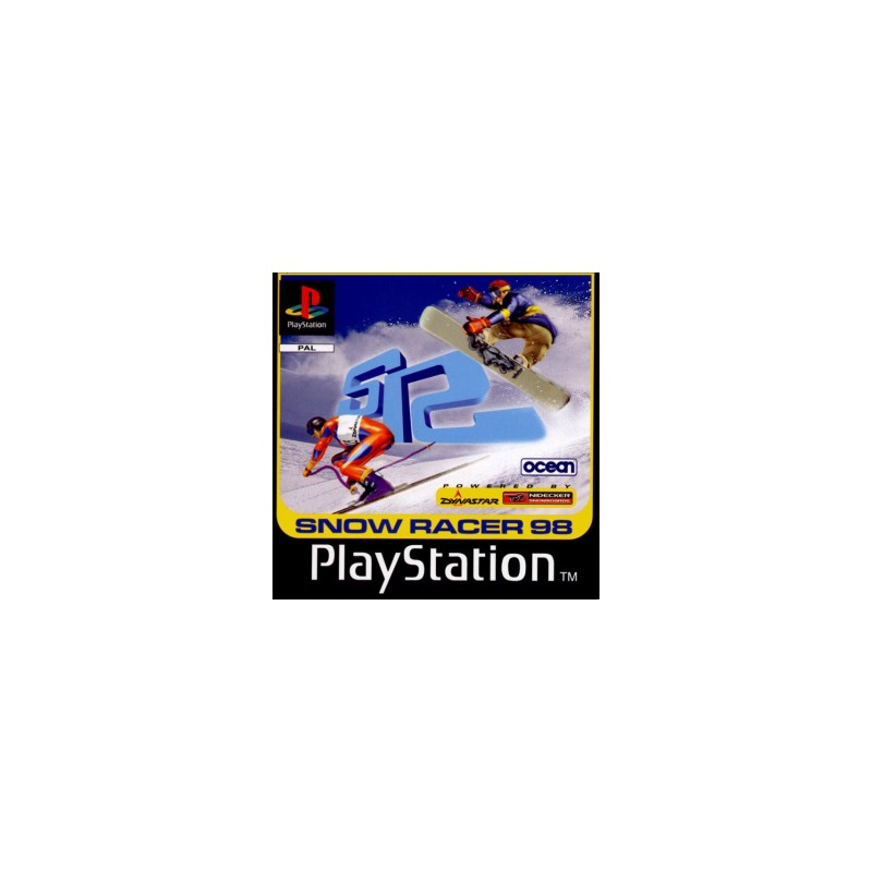 PSX SNOW RACER 98 - Jeux PS1 au prix de 2,95€