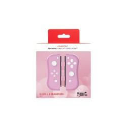 PAIRE JOYCON SWITCH PINKI UNDERCONTROL AVEC DRAGONNES - Accessoires Switch au prix de 49,95€