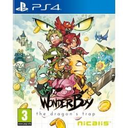 PS4 WONDERBOY THE DRAGON S TRAP - Jeux PS4 au prix de 29,95€