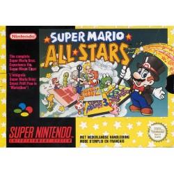 SN SUPER MARIO ALL STARS (BOITE ABIMEE) - Jeux Super NES au prix de 19,95€