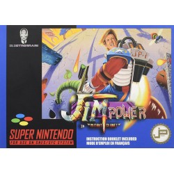 SN JIM POWER IN MUTANT PLANET (NEUF) - Jeux Super NES au prix de 49,95 €