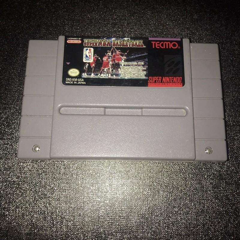 SN TECMO SUPER NBA BASKETBALL (IMPORT US + LOOSE) - Jeux Super NES au prix de 2,95€