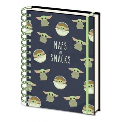 NOTEBOOK A5 STAR WARS SNACKS AND NAPS - Papeterie au prix de 6,95 €