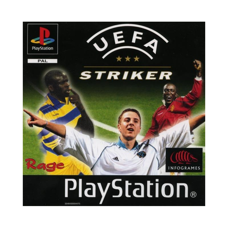PSX UEFA STRIKER - Jeux PS1 au prix de 1,95€