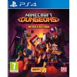 PS4 MINECRAFT DUNGEONS HERO EDITION - Jeux PS4 au prix de 29,95€