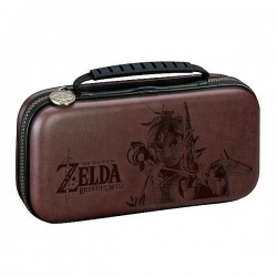 SACOCHE SWITCH LITE ZELDA BREATH OF THE WILD BROWN - Accessoires Switch au prix de 24,95€