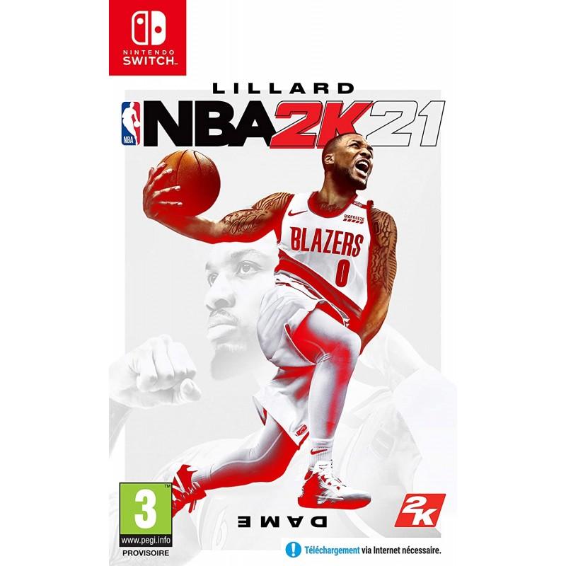 SWITCH NBA 2K21 - Jeux Switch au prix de 54,95€