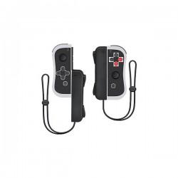 PAIRE JOYCON SWITCH NES NOIR GRIS UNDERCONTROL - Accessoires Switch au prix de 49,95€