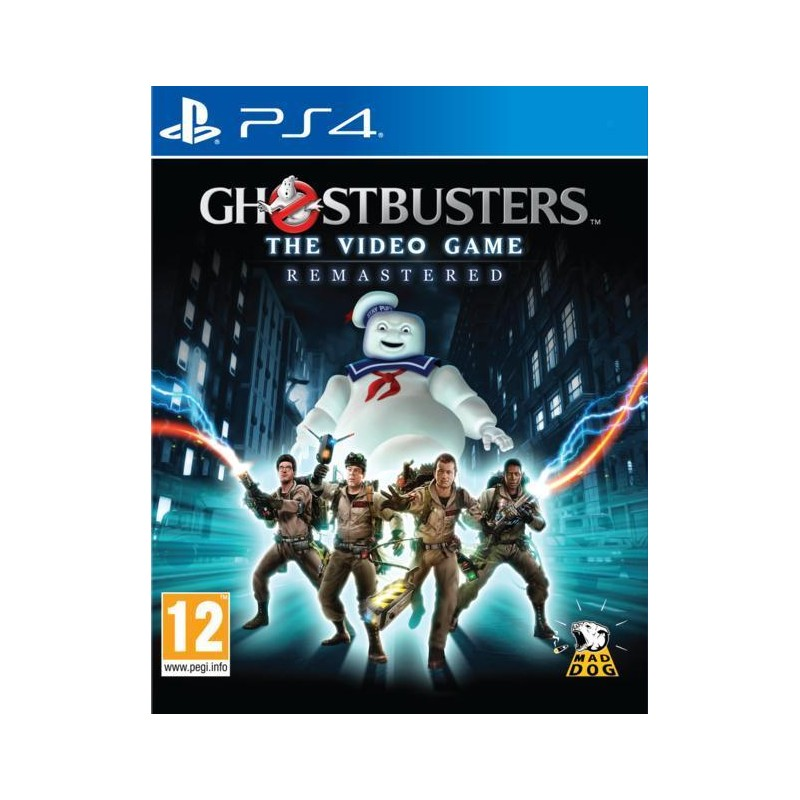 PS4 GHOSTBUSTERS THE VIDEO GAME REMASTERED OCC - Jeux PS4 au prix de 14,95€
