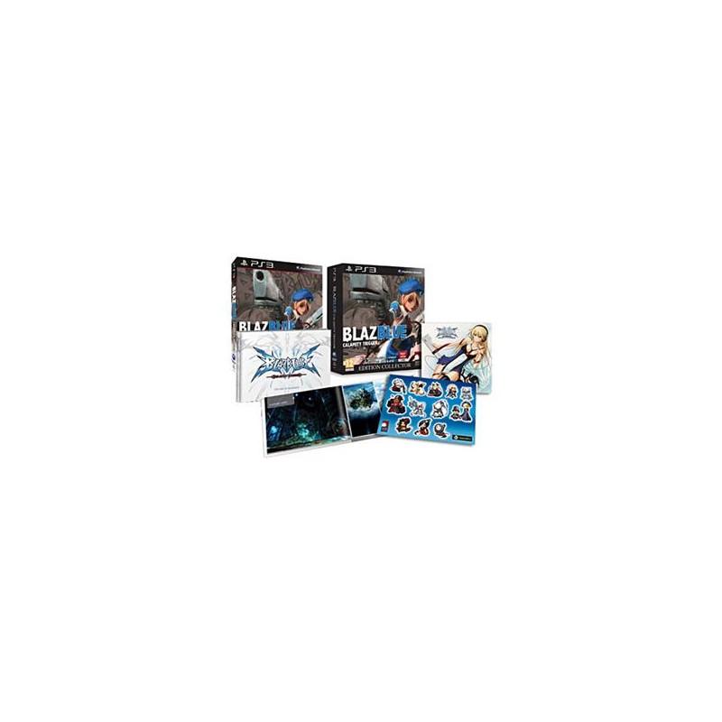 PS3 BLAZBLUE CALAMITY TRIGGER COLLECTOR - Jeux PS3 au prix de 14,95€