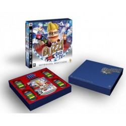 PS3 BUZZ QUIZZ TV ET BUZZERS - Jeux PS3 au prix de 24,95€