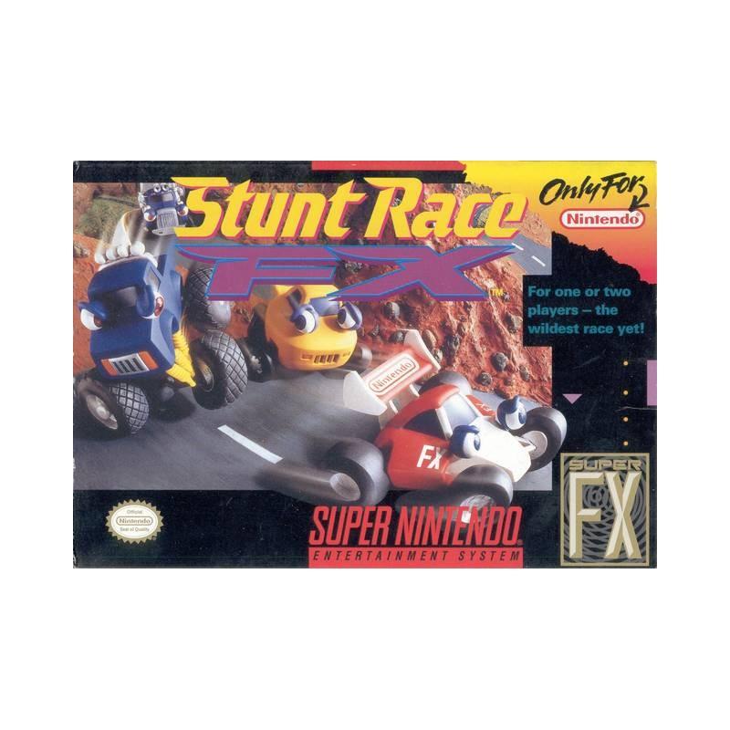 SN STUNT RACE FX (IMPORT US) - Jeux Super NES au prix de 14,95€