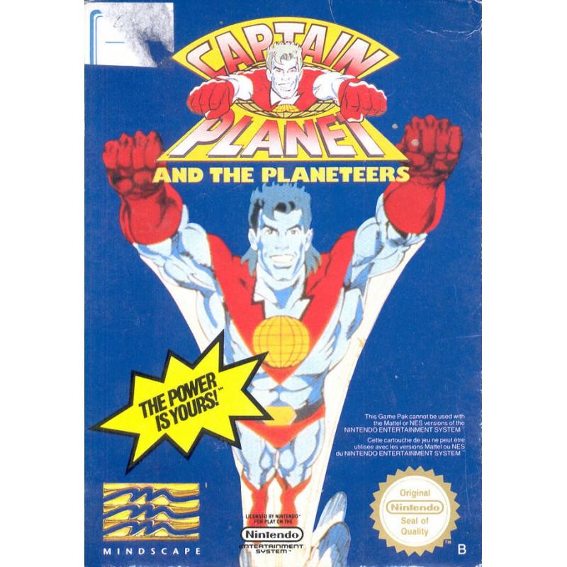 NES CAPTAIN PLANET (SANS NOTICE) - Jeux NES au prix de 19,95€