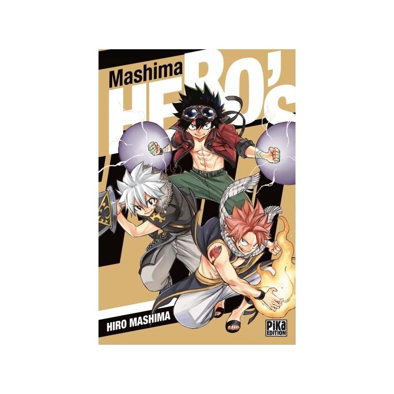 MASHIMA HERO S - Manga au prix de 6,95€