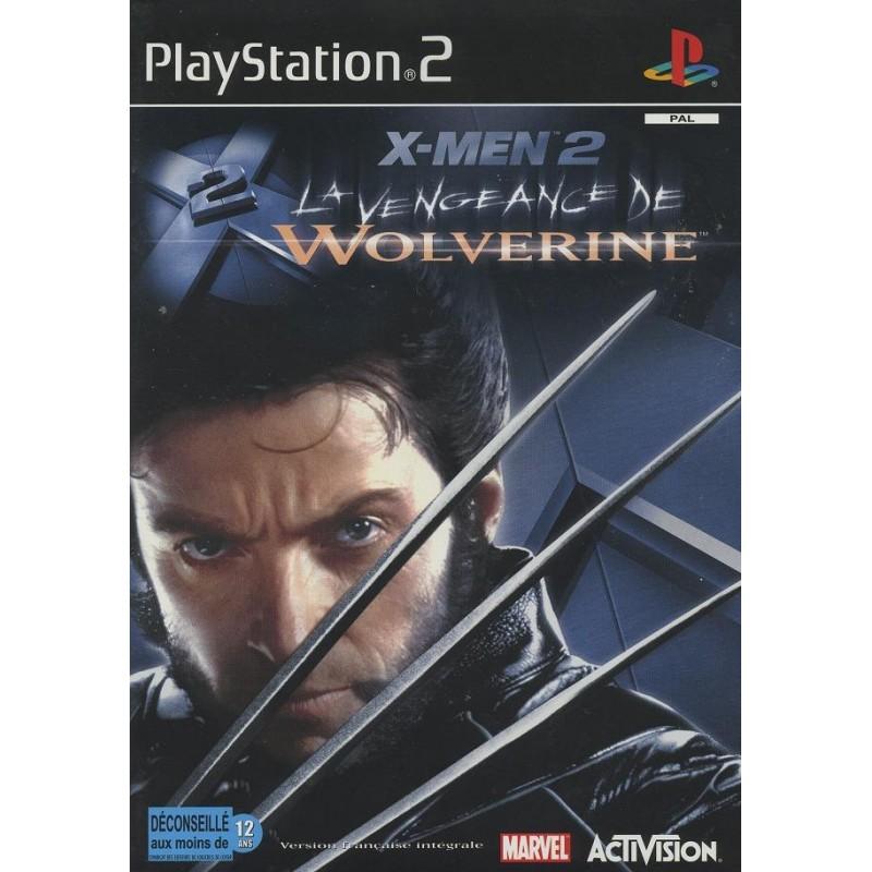 PS2 X MEN 2 LA VENGEANCE DE WOLVERINE - Jeux PS2 au prix de 3,95€