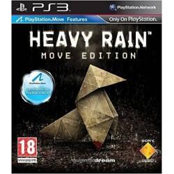PS3 HEAVY RAIN MOVE - Jeux PS3 au prix de 8,95€