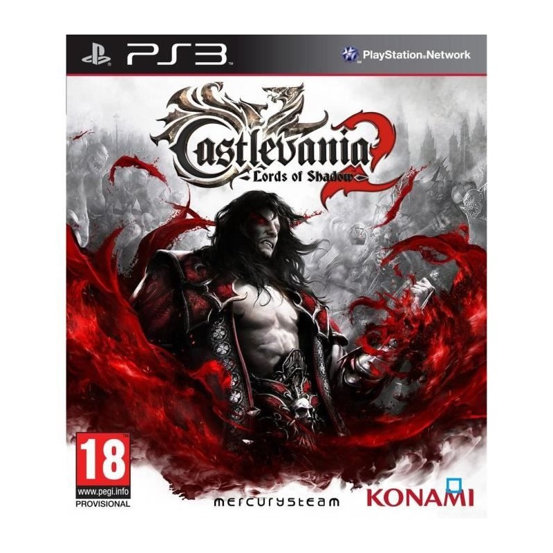 PS3 CASTLEVANIA LORDS OF SHADOW 2 - Jeux PS3 au prix de 14,95 €