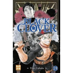 BLACK CLOVER T24 - Manga au prix de 6,89€