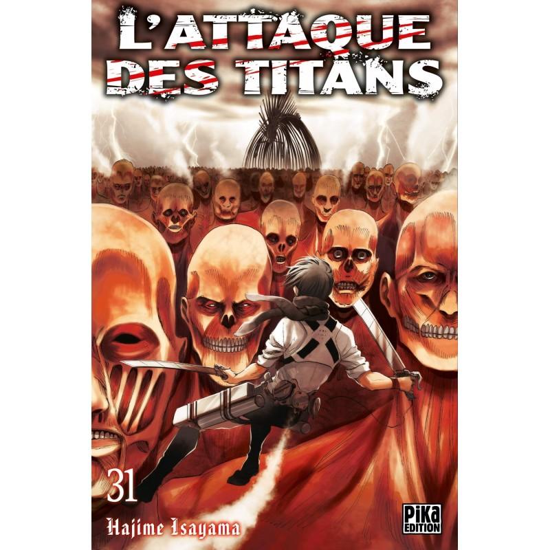 L ATTAQUE DES TITANS T31 - Manga au prix de 6,95€