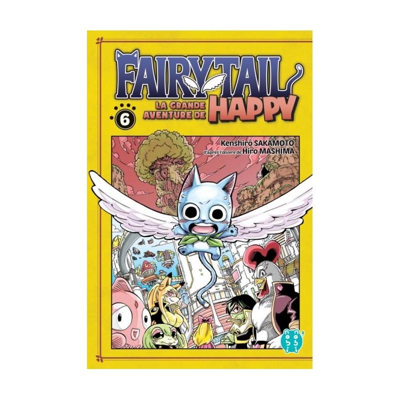 FAIRY TAIL LA GRANDE AVENTURE DE HAPPY T06 - Manga au prix de 6,95€