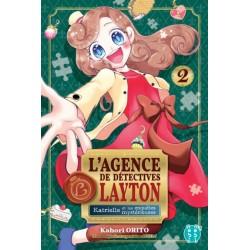 L AGENCE DE DETECTIVES LAYTON T02 - Manga au prix de 7,20€