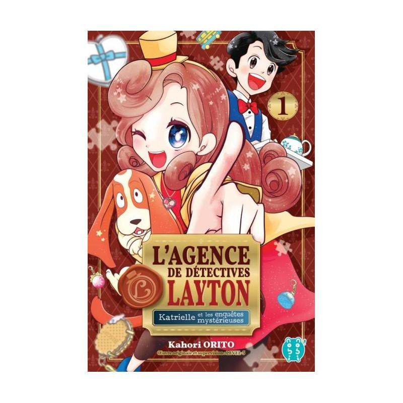 L AGENDE DE DETECTIVES LAYTON T01 - Manga au prix de 7,20€