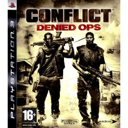 PS3 CONFLICT DENIED OPS - Jeux PS3 au prix de 6,95€