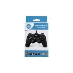 MANETTE PS2 FILAIRE NOIRE 2M - Accessoires PS2 au prix de 9,95€