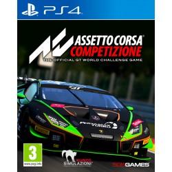 PS4 ASSETTO CORSA COMPETIZIONE - Jeux PS4 au prix de 29,95€