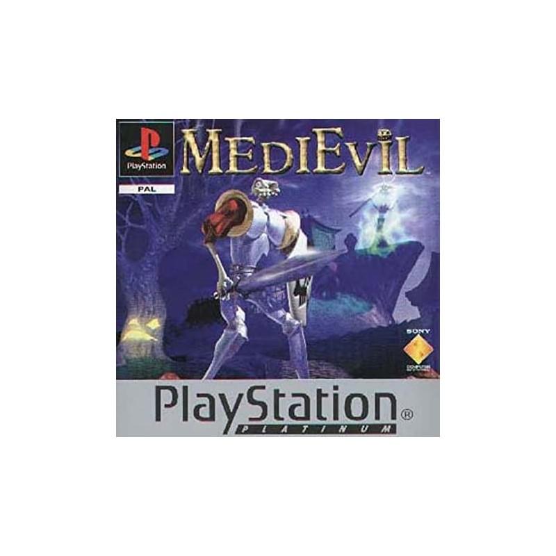 PSX MEDIEVIL (PLATINUM) (SANS NOTICE) - Jeux PS1 au prix de 6,95€
