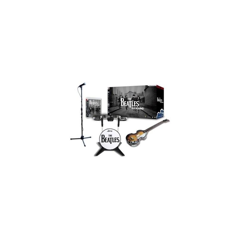 PS3 THE BEATLES ROCKBAND AVEC INSTRUMENTS - Jeux PS3 au prix de 79,95€