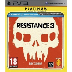 PS3 RESISTANCE 3 PLATINUM - Jeux PS3 au prix de 4,95€
