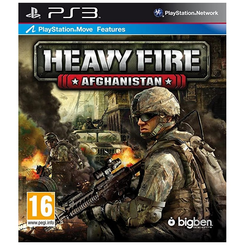 PS3 HEAVY FIRE AFGHANISTAN - Jeux PS3 au prix de 9,95€