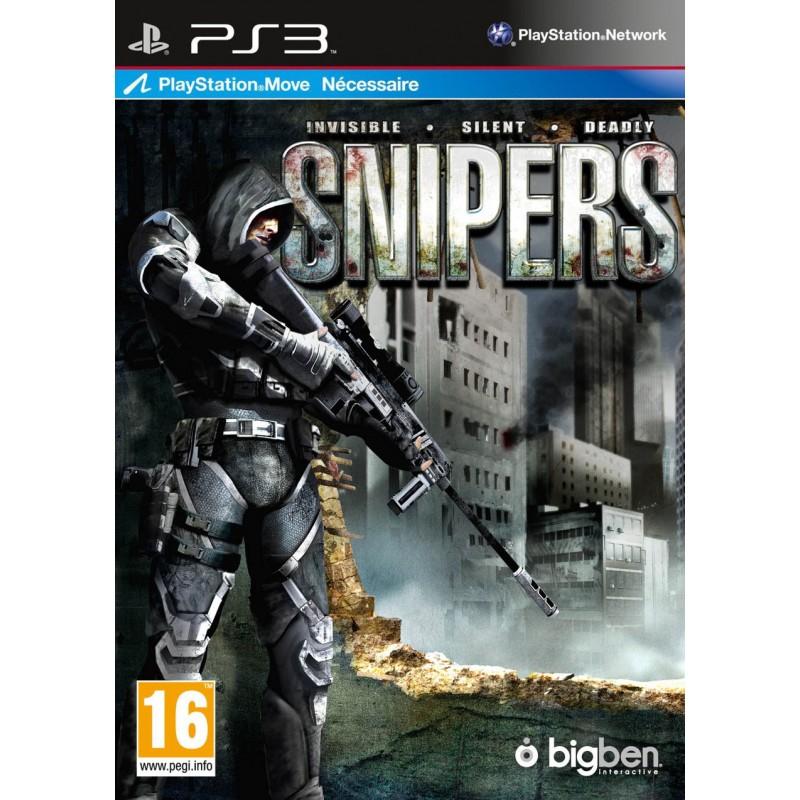 PS3 SNIPERS - Jeux PS3 au prix de 14,95€