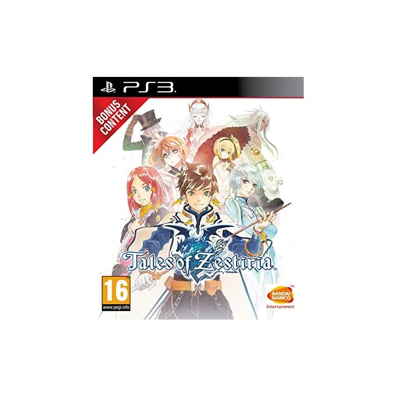 PS3 TALES OF ZESTIRIA - Jeux PS3 au prix de 12,95€