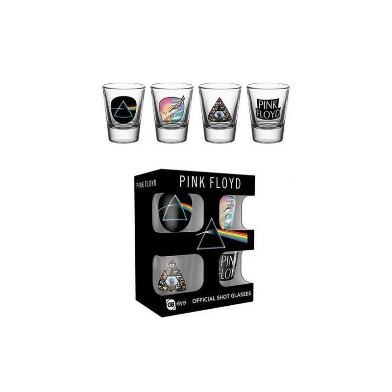 VERRES SHOOTER PINK FLOYD - Mugs au prix de 14,95€