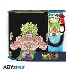 MUG DRAGON BALL SUPER BROLY THERMIQUE 460ML - Mugs au prix de 12,95€