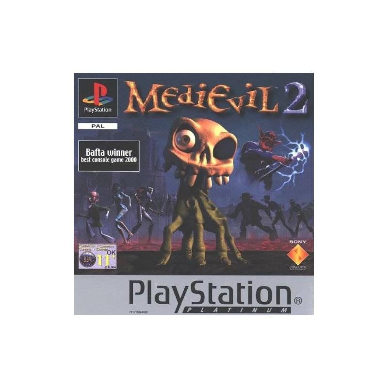 PSX MEDIEVIL 2 PLATINUM (SANS NOTICE) - Jeux PS1 au prix de 6,95€
