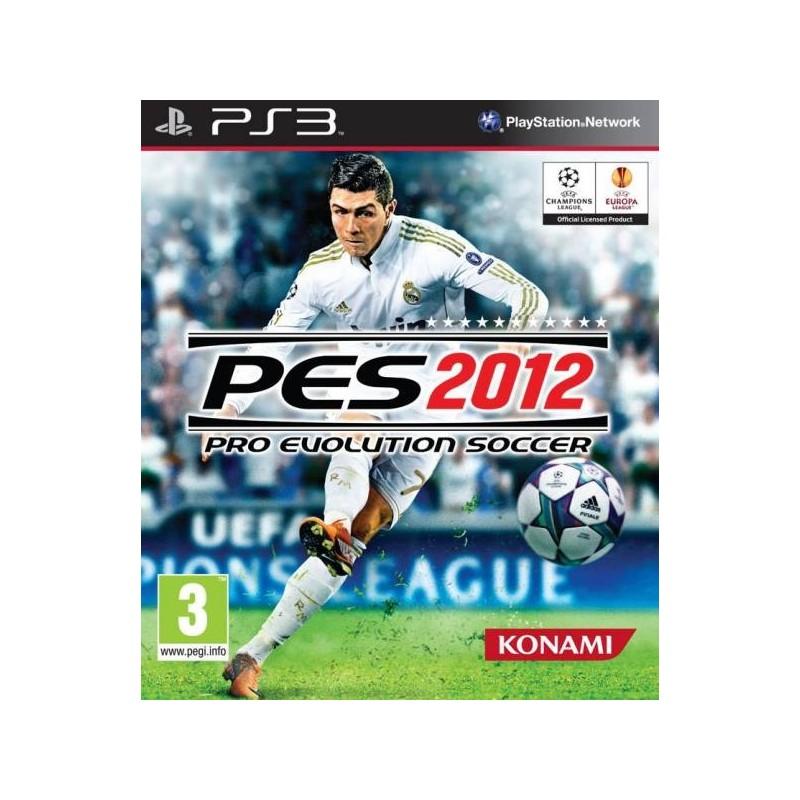 PS3 PES 2012 - Jeux PS3 au prix de 4,95€