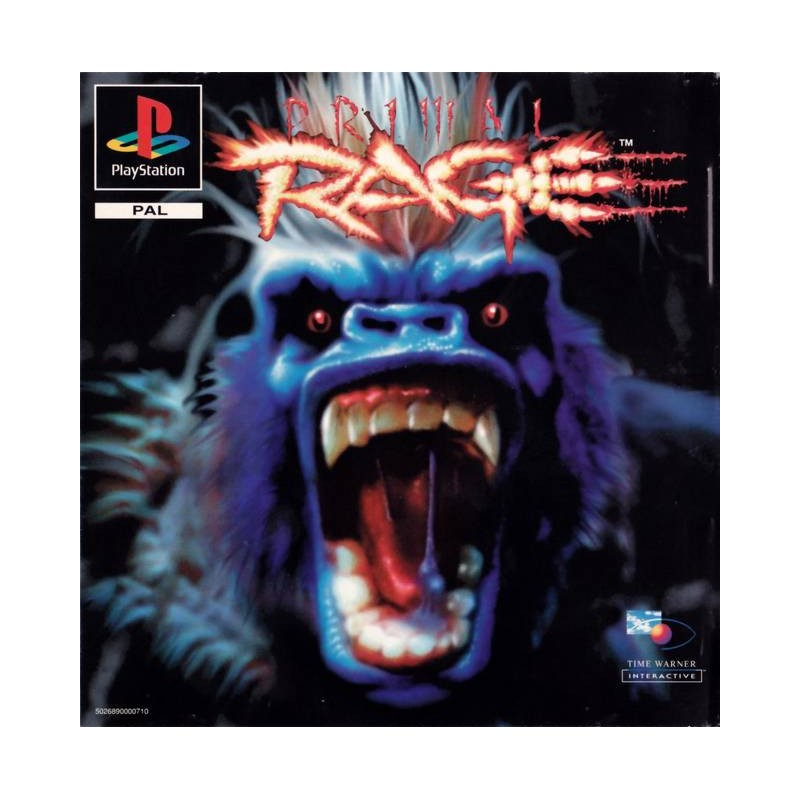PSX PRIMAL RAGE - Jeux PS1 au prix de 0,00€