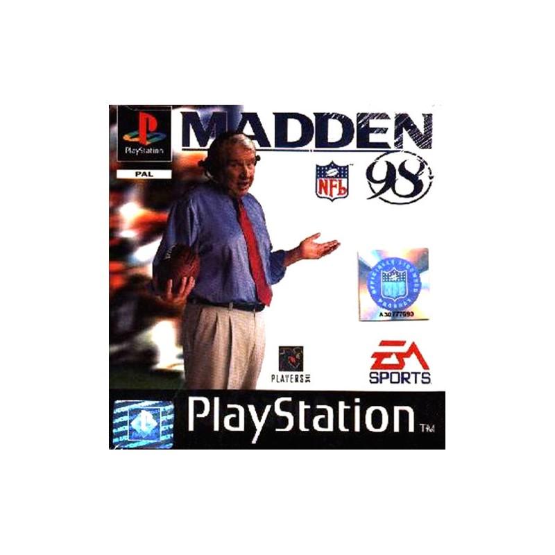 PSX MADDEN 98 - Jeux PS1 au prix de 4,95€
