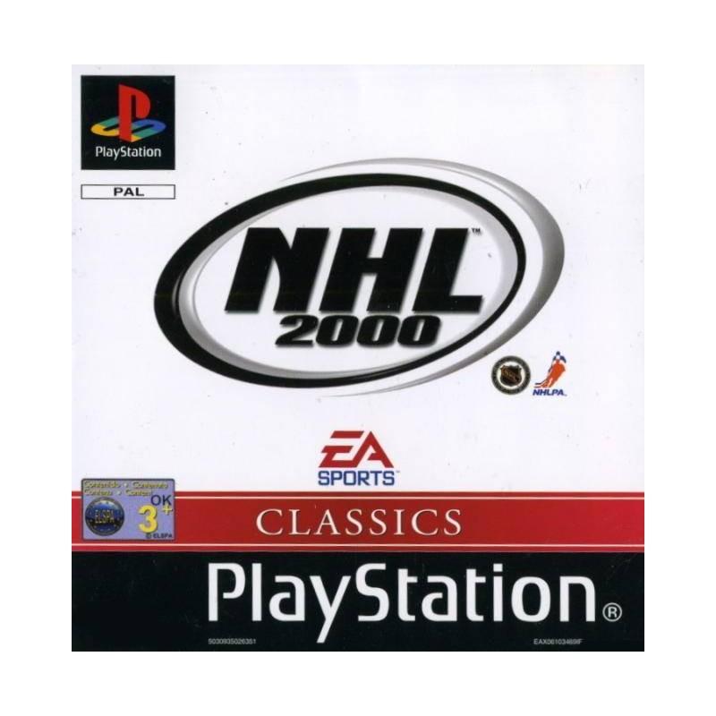 PSX NHL 2000 VERSION US - Jeux PS1 au prix de 2,95€